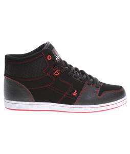 Praxis Freestyle Skate Shoes Red/Black