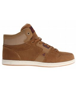 Praxis Freestyle Skate Shoes Tan Suede/Hemp