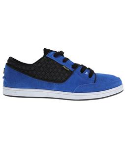 Praxis Geo Skate Shoes Blue/Black