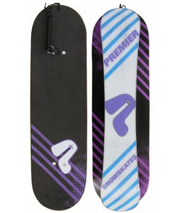 Premier Neon Bi-Level Snowskate 35