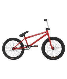 Premium Inception 20.5 BMX Bike Matte Red 20in
