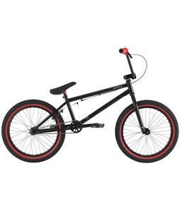 Premium Solo BMX Bike Black 20in/20.5in Top Tube