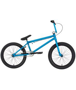 Premium Solo 21In BMX Bike Matte Blue Frost 20