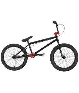 Premium Solo BMX Bike Gloss Black 20in
