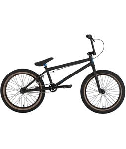 Premium Solo BMX Bike Matte Black 20in/20.25in Top Tube