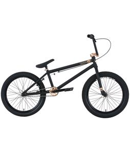 Premium Solo +  BMX Bike Matte Black 20in