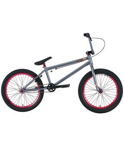 Premium Solo + 21In BMX Bike Sg Charcoal Grey 20