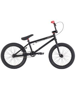 Premium Solo 18 BMX Bike Black 18in/18in Top Tube