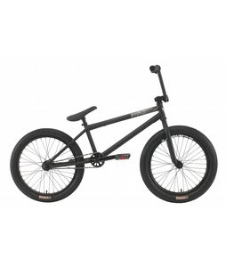 Premium Solo Plus BMX Bike Matte Black 20in