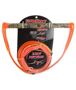 Proline Mossy Oak Wakeboard Handle/Line Combo Orange 75ft