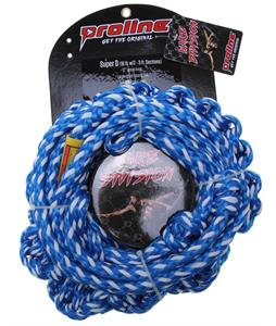 Proline Super D 10' Braided Tail w/ 2 Section Mainline Blue 16Ft