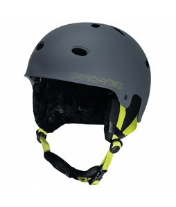 Protec B2 Snowboard Helmet Matte Gray Citrus