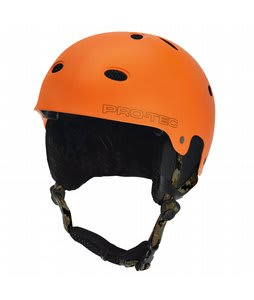 Protec B2 Snowboard Helmet Matte Orange Camo