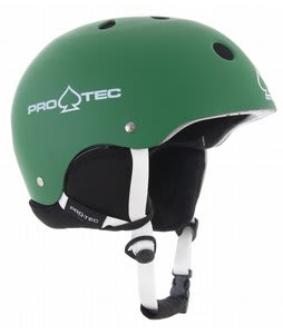 Protec Classic Snowboard Helmet Matte Green