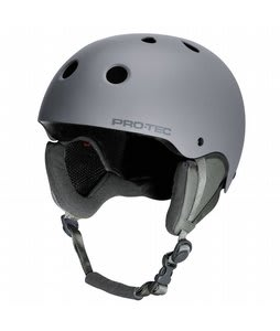 Protec Classic Snowboard Helmet Matte Tonal Gray