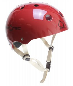 Protec Classic Skate Helmet Gloss Deep Red