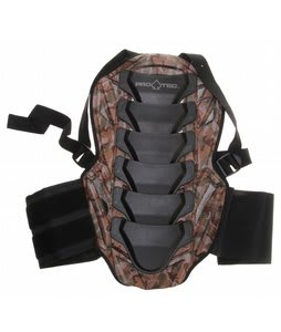 Protec IPS Back Pad Woodland Camo