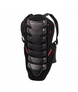 Protec Ips Back Pad Black/Red