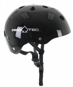 Protec The Classic Skate Helmet Gloss Black
