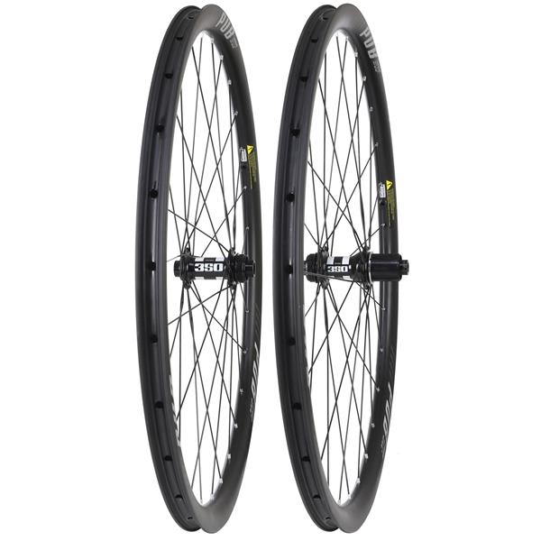 Pub Carbon Gravel 31D DT 350 100X15/142X12 DB Wheel Set