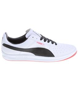Puma G. Vilas L2 Shoes White/Black/Ribbon Red