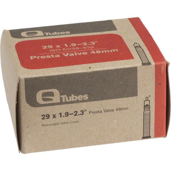 Q-Tubes Presta Valve 48mm Bike Tube