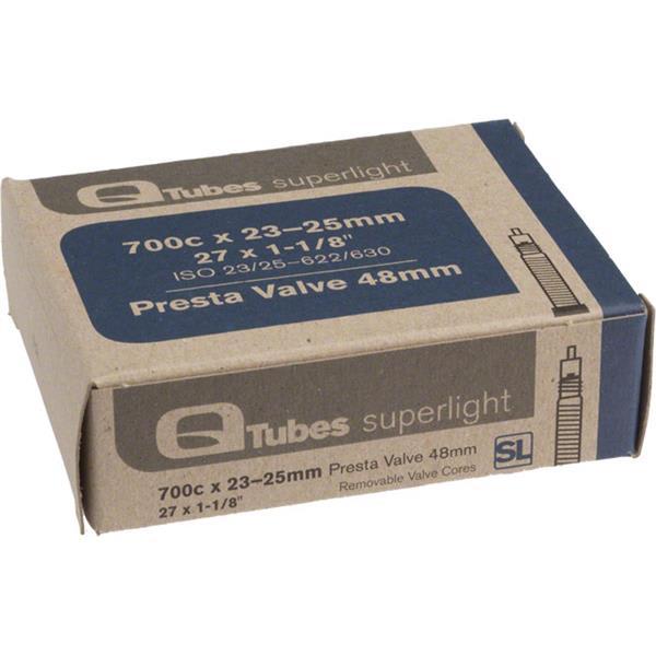 Q-Tubes Presta Valve Bike Tube
