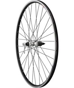 Quality Wheels Value Series 2 Road Rear RM60 135mm Bike Wheel Black/Silver 700C