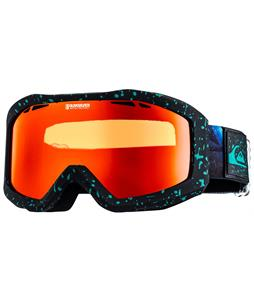 Quiksilver Fenom Art Goggles Black/Orange Lens