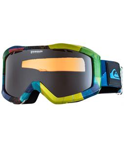 Quiksilver Fenom Art Goggles Green/Orange Chrome Lens