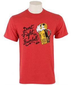 Quiksilver Foamball T-Shirt Original Red Heather