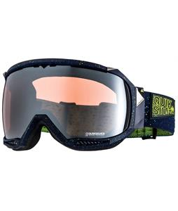 Quiksilver Hubble Goggles Navy/HD Mirror Lens