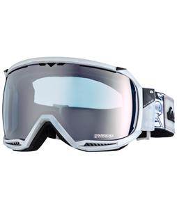 Quiksilver Hubble Goggles White/Clear Blue Lens