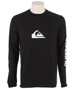 Quiksilver Mountain Wave L/S T-Shirt Black