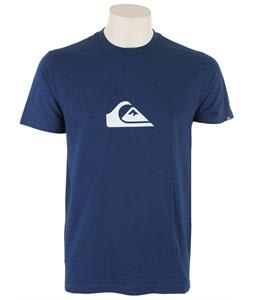 Quiksilver Moutain Wave T-Shirt Estate Blue