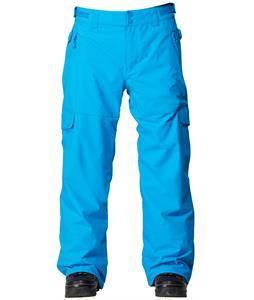 Quiksilver Portland Insulated Snowboard Pants Brilliant Blue