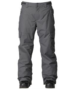 Quiksilver Portland Insulated Snowboard Pants Dark Shadow