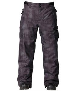 Quiksilver Portland Insulated Snowboard Pants Xerox Down
