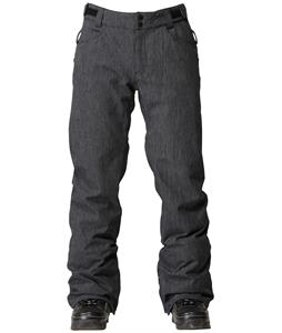 Quiksilver Public Snowboard Pants Black Denim
