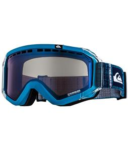 Quiksilver Q1 Goggles Blue/Orange/Blue Chrome Lens