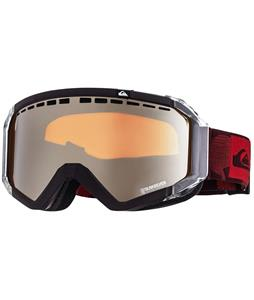 Quiksilver Q1 Goggles Burgundy/Orange Chrome Lens