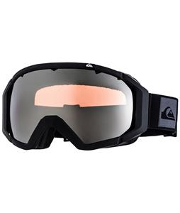 Quiksilver Q2 Goggles Black/Orange Chrome Lens
