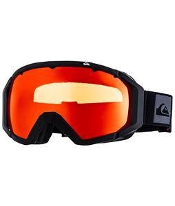 Quiksilver Q2 Goggles Black/Orange Lens