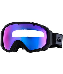Quiksilver Q2 Goggles Black/Orange/Multilayer Blue Lens