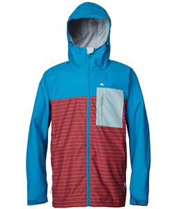 Quiksilver Show All Snowboard Jacket Celestial/Lead/Ruby Wine Stripe