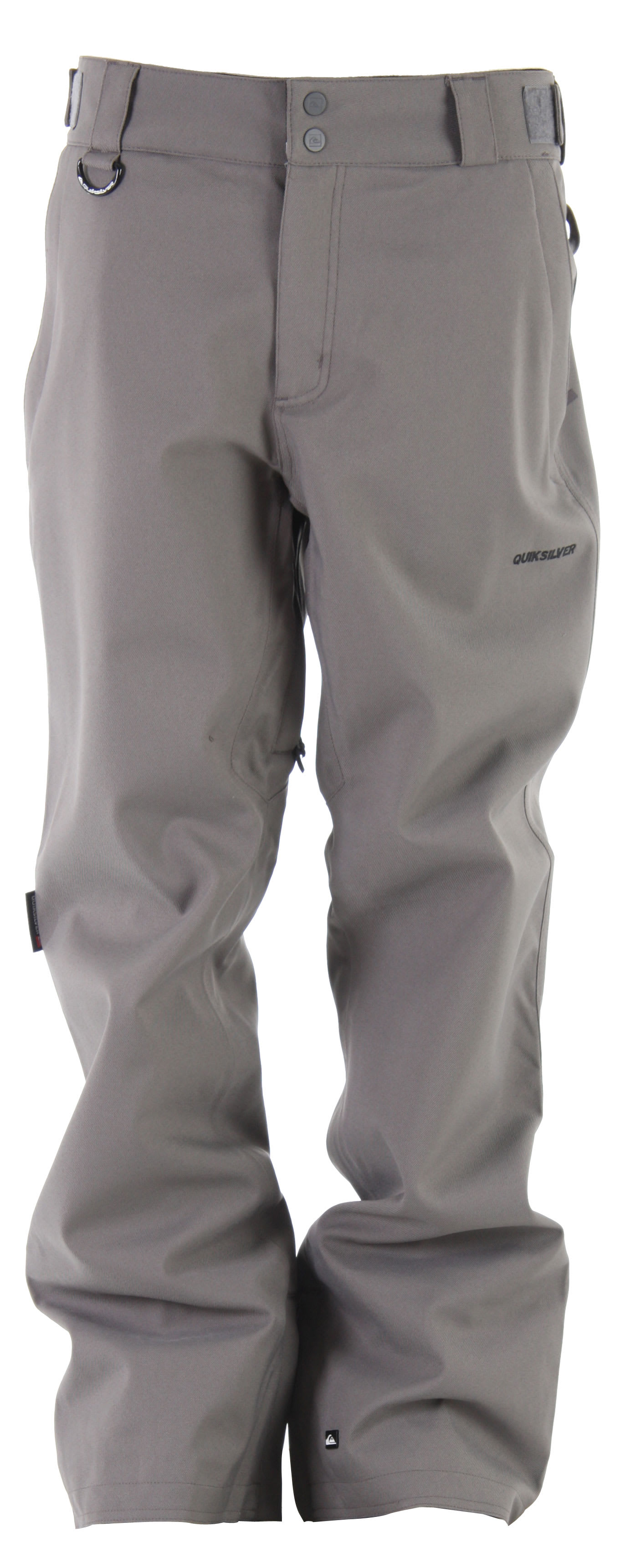 Shop for Quiksilver Tuff Spins Shell Snowboard Pants Smoke - Men's