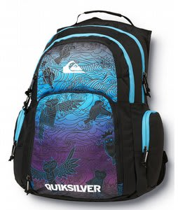 Quiksilver 1969 Special Backpack Black/Purple