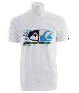 Quiksilver Affected T-Shirt White