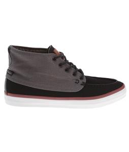 Quiksilver Ahab Mid Shoes Black/Grey