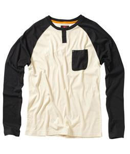 Quiksilver Ah Shucks Raglan Dark Charcoal